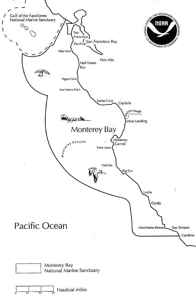 Monterey National Marine Sanctuary