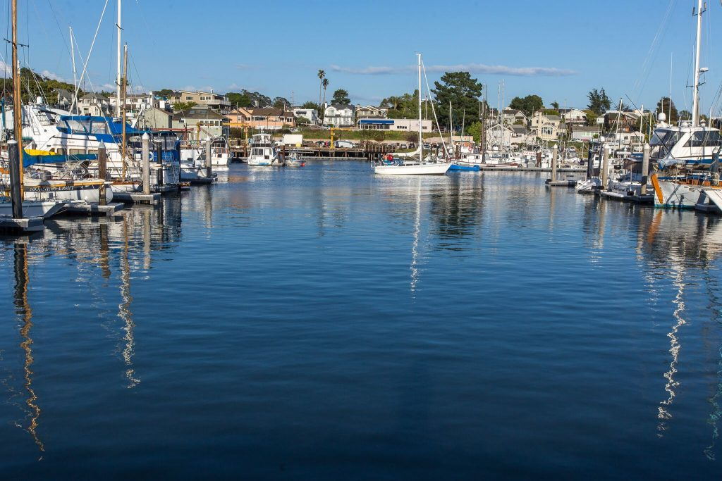 image of harbor waterway